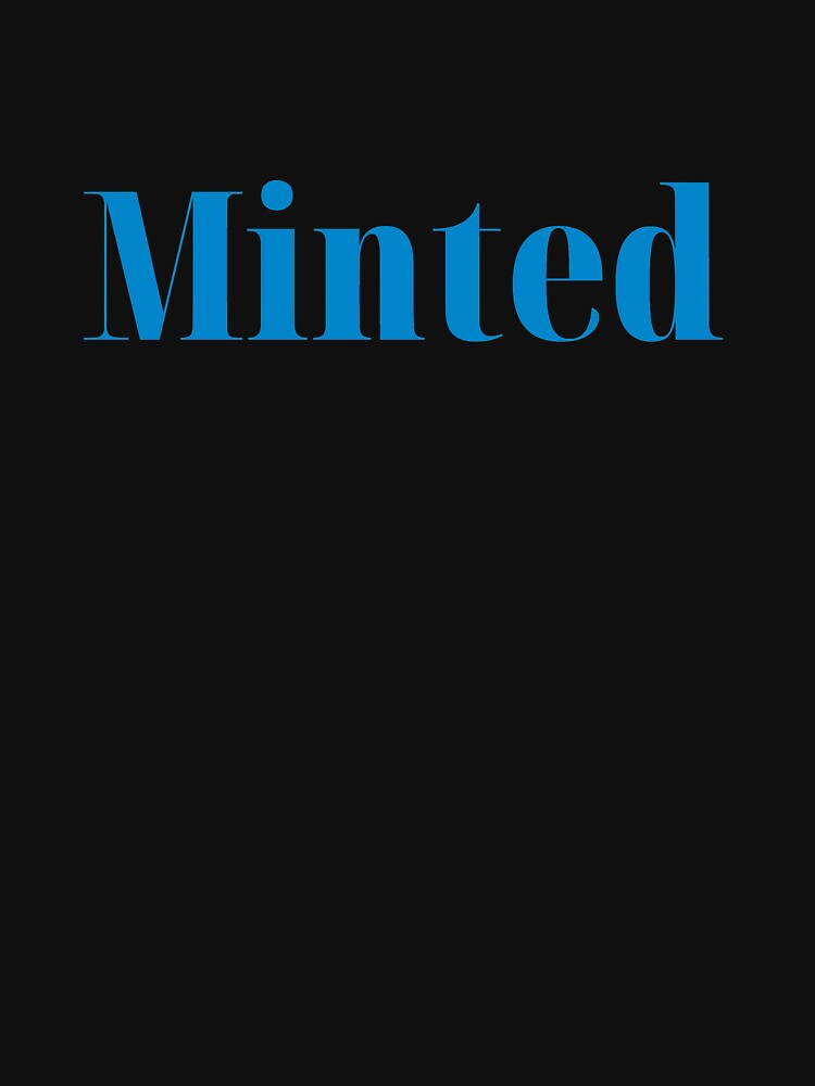RedBubble: Minted - Blue