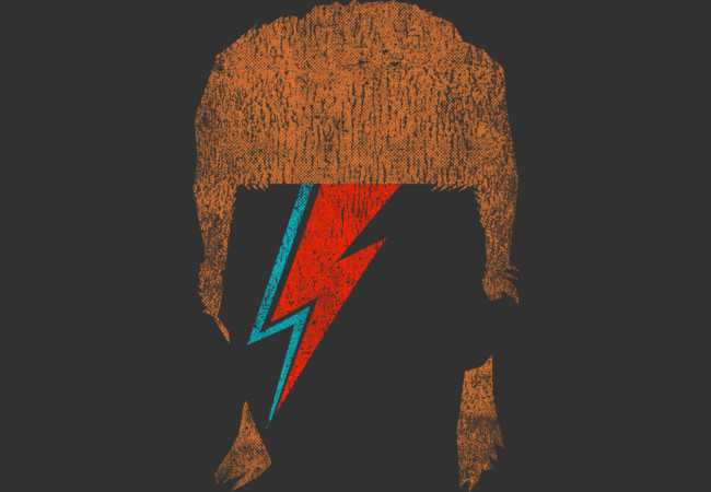 Design by Humans: David Bowie Vintage Tees