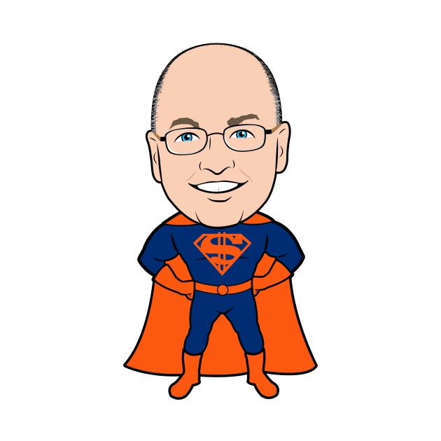 TeePublic: Super Steve Cohen