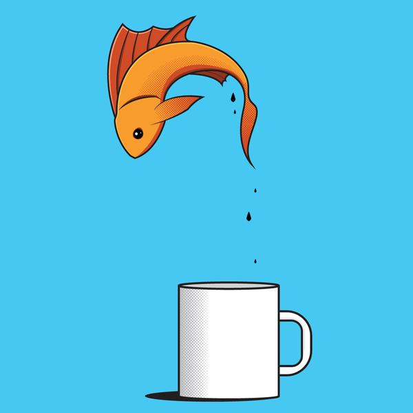 Awkward Designs: Fish Coffee Cup