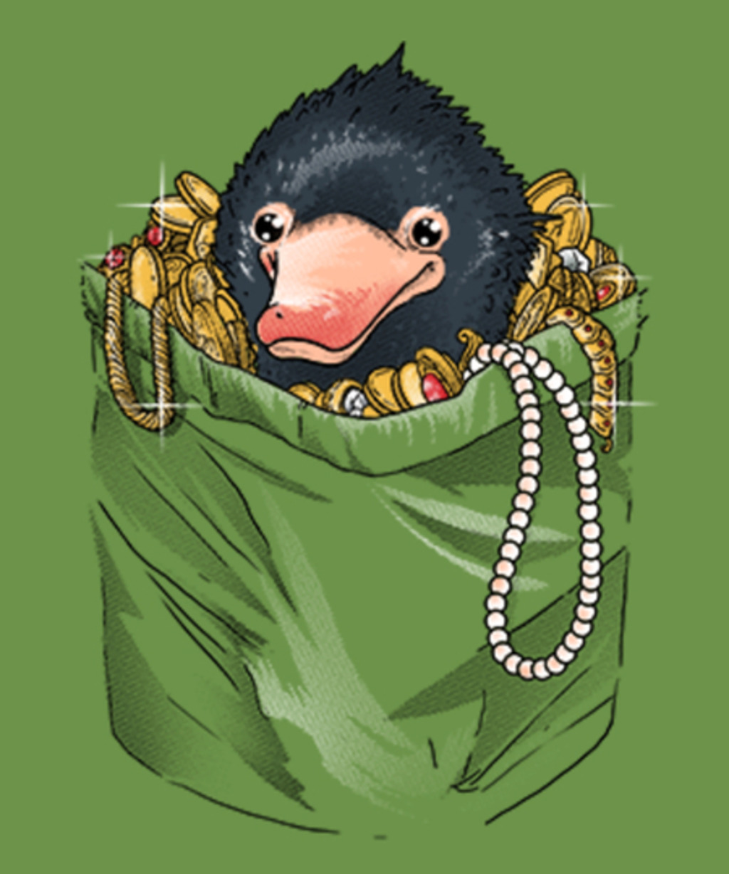 Qwertee: Niffler in your pocket