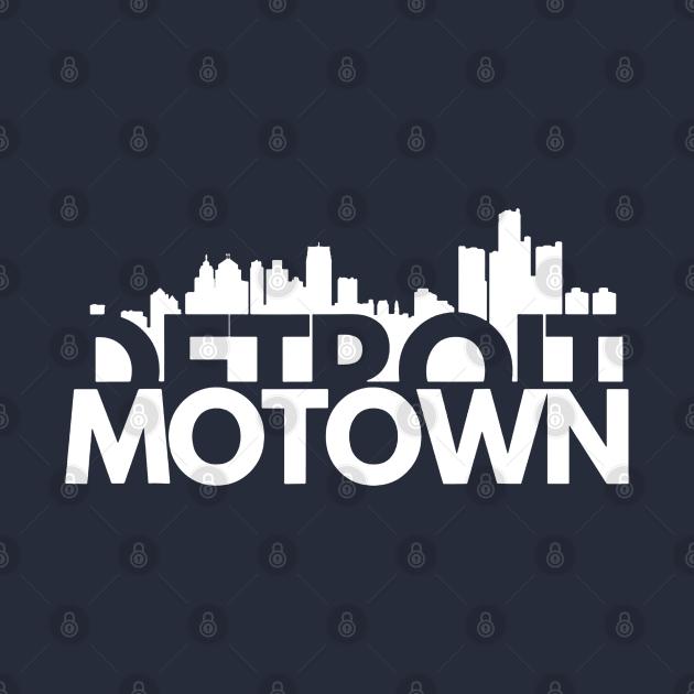 TeePublic: detroit Motown