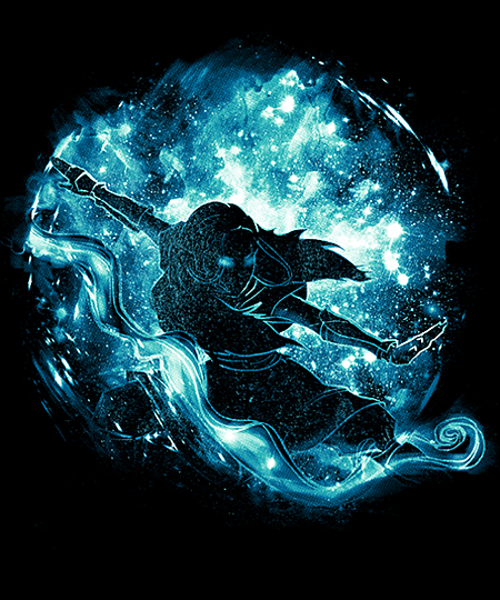 Qwertee: liquid space