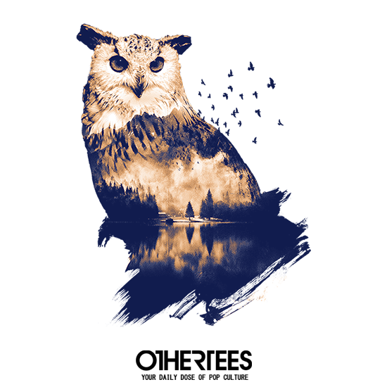 OtherTees: Forest Owl