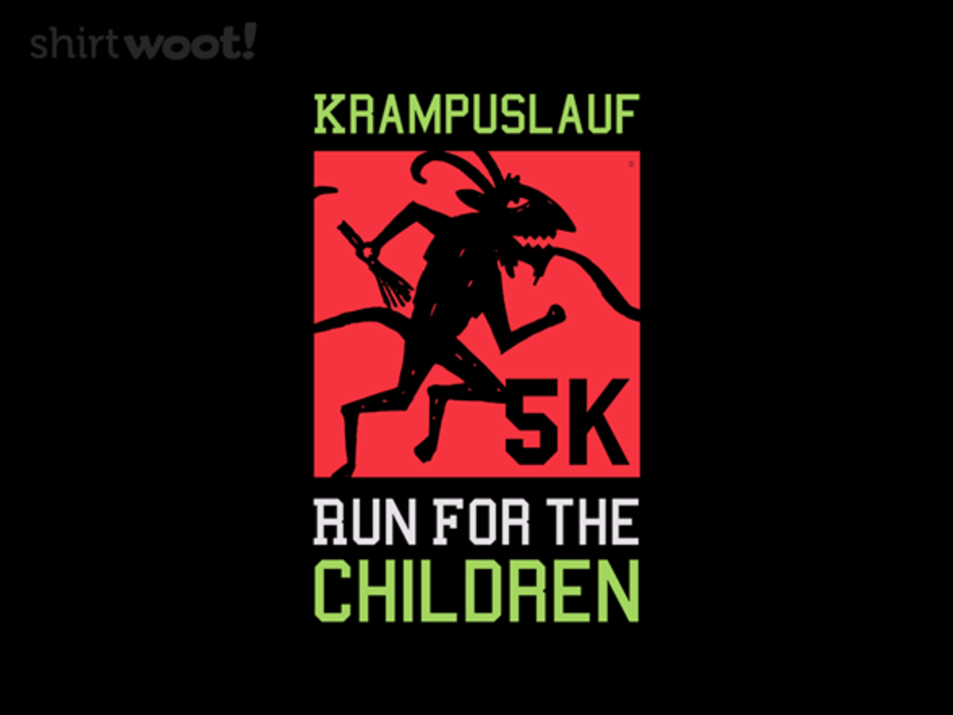 Woot!: Run for The Children - $8.00 + $5 standard shipping