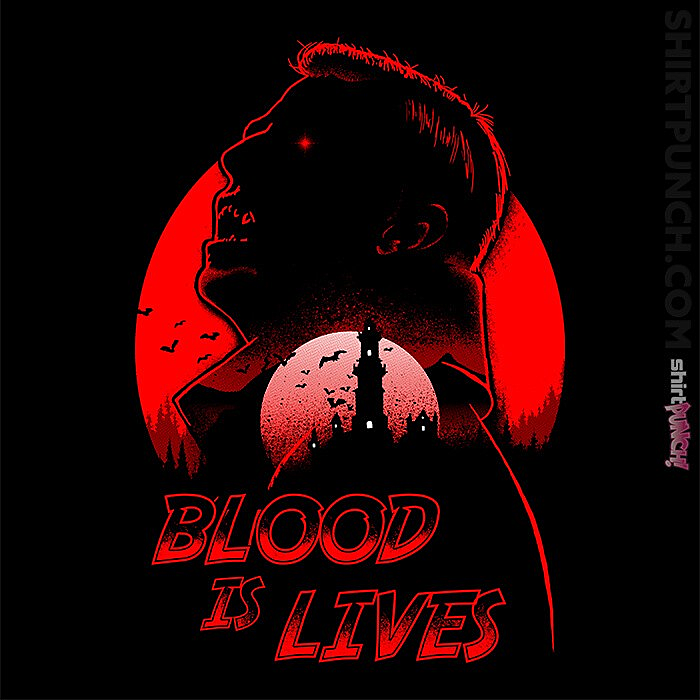ShirtPunch: Blood Is Lives