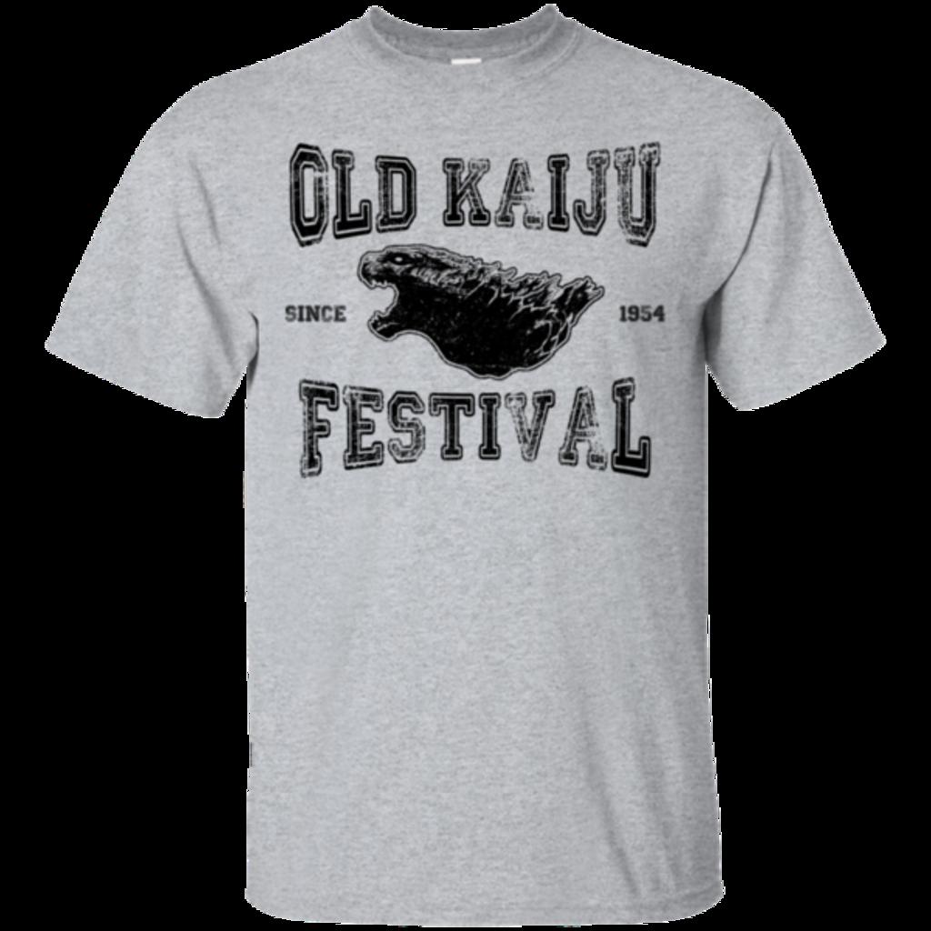 Pop-Up Tee: Old Kaiju Festival