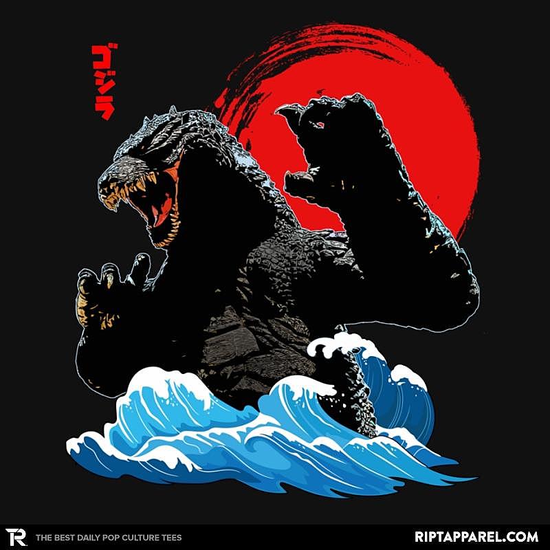 Ript: Godzilla Wave Japan Art