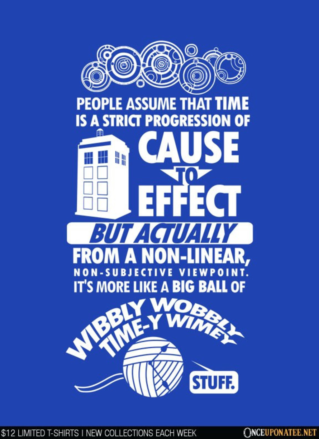 Once Upon a Tee: Timey Wimey Tee