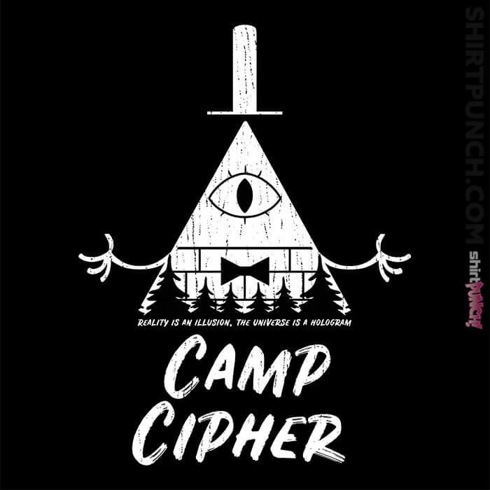 ShirtPunch: Camp Cipher