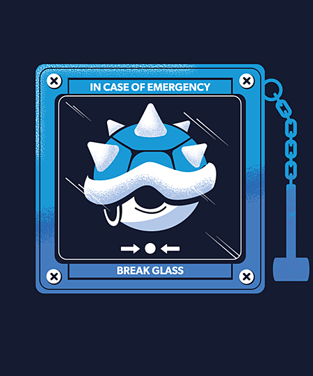 Qwertee: Break glass and take the Blue Shell