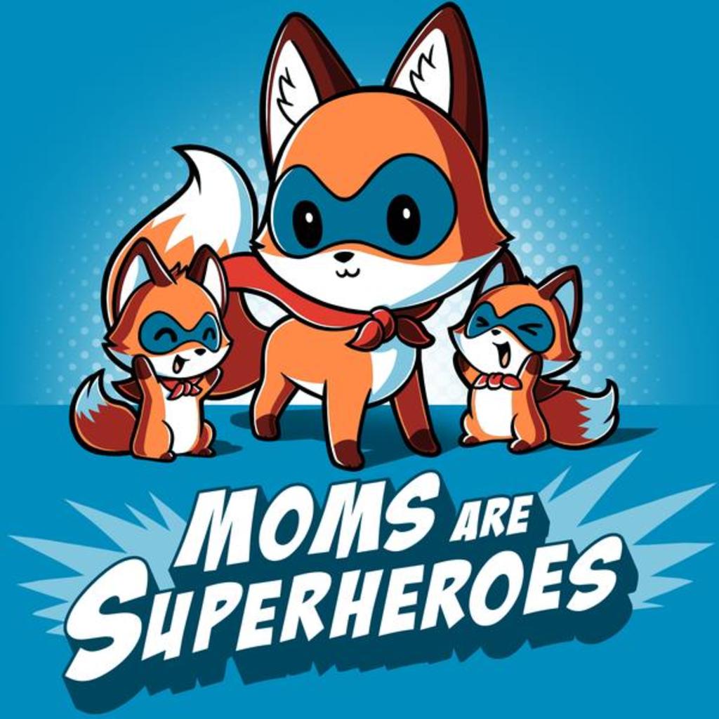 TeeTurtle: Moms Are Superheroes