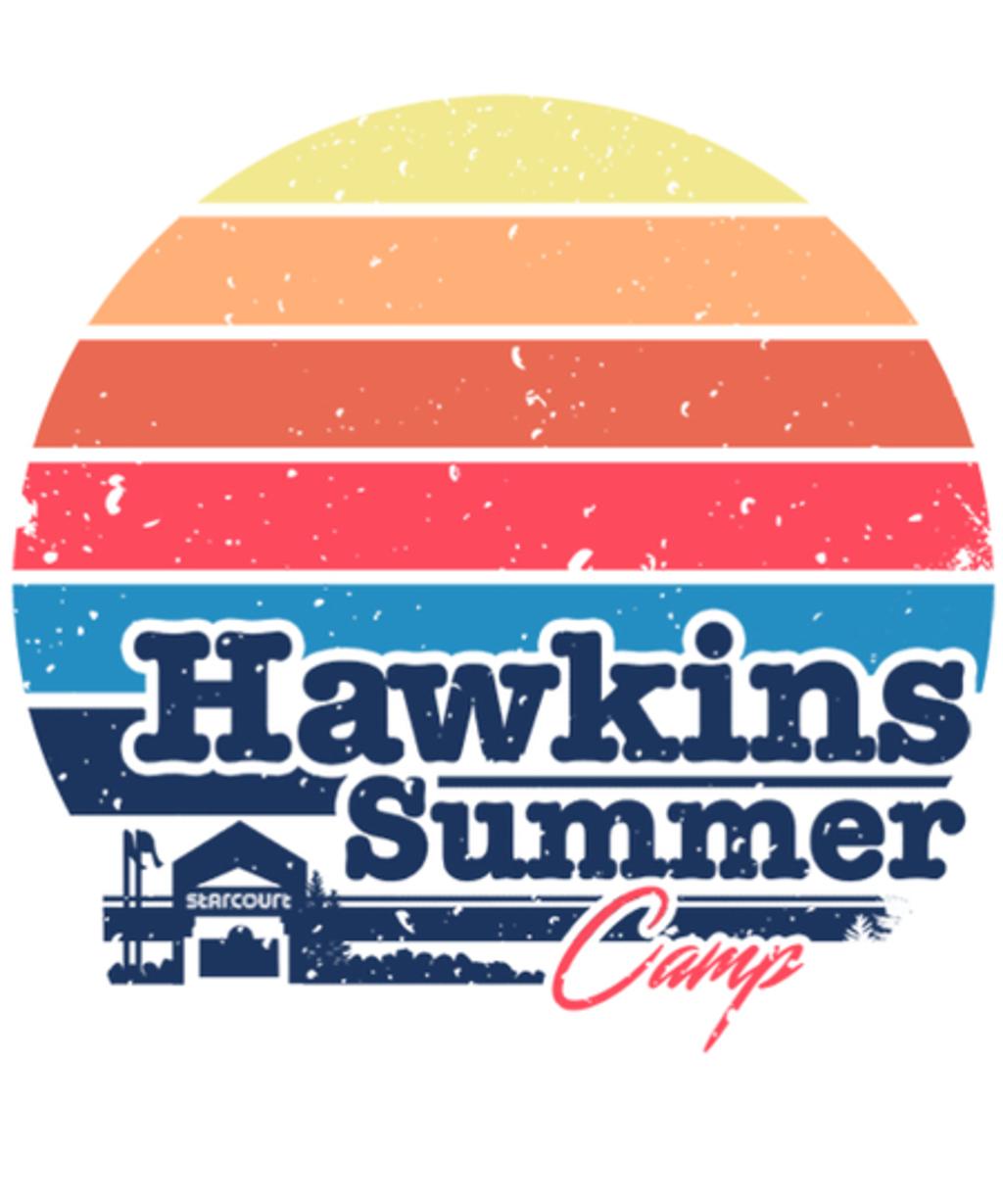 Qwertee: Hawkins Summer Camp