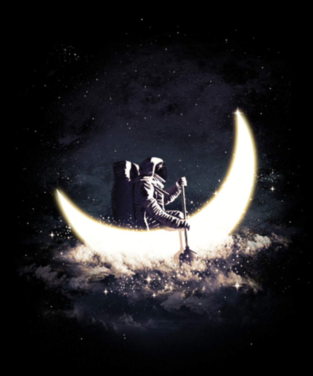 Qwertee: Moon Sailing
