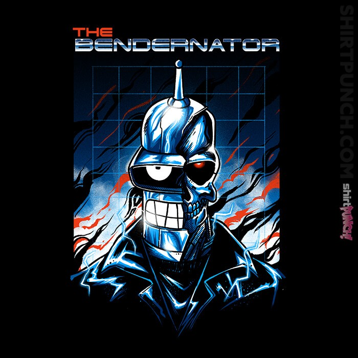 ShirtPunch: Bendernator