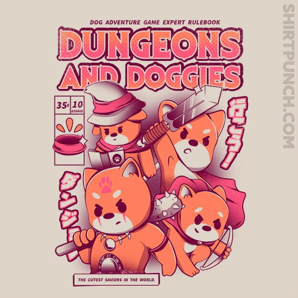 ShirtPunch: Dungeons And Doggies