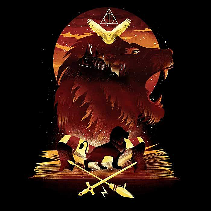 Once Upon a Tee: Book of Lions