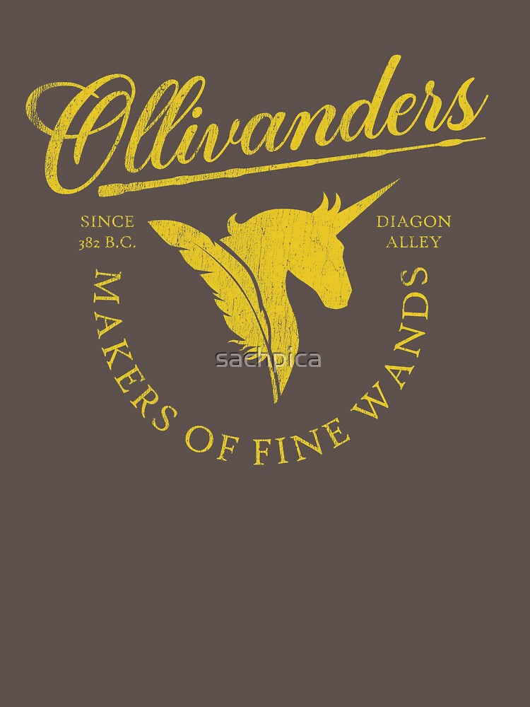 RedBubble: Ollivander's Wands Shop ✅