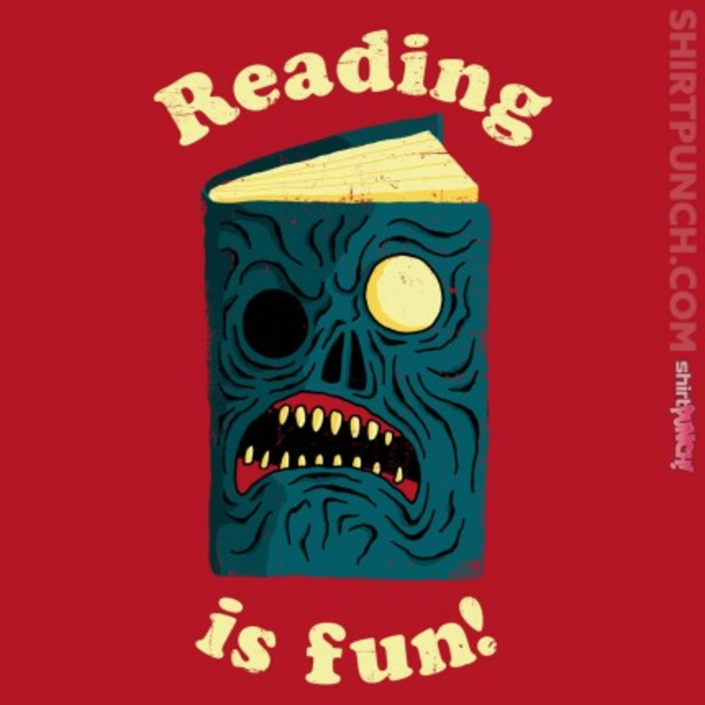 ShirtPunch: Reading is Fun