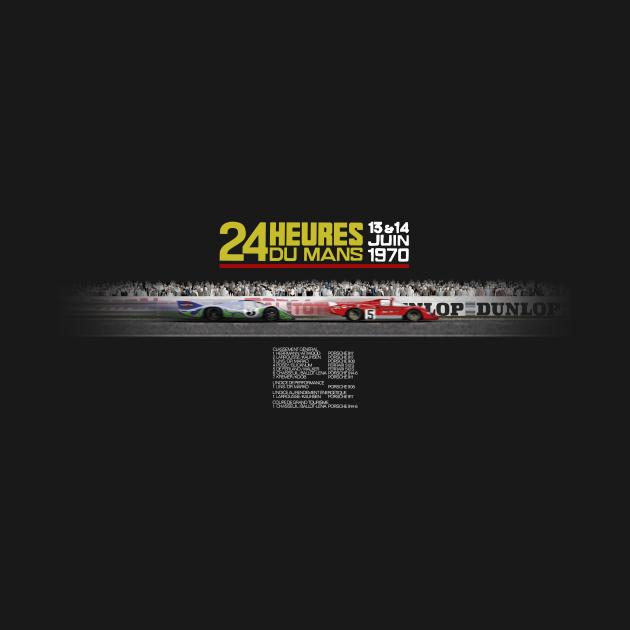 TeePublic: Le Mans 1970