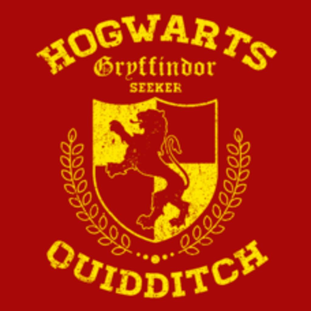 Textual Tees: Gryffindor Quidditch