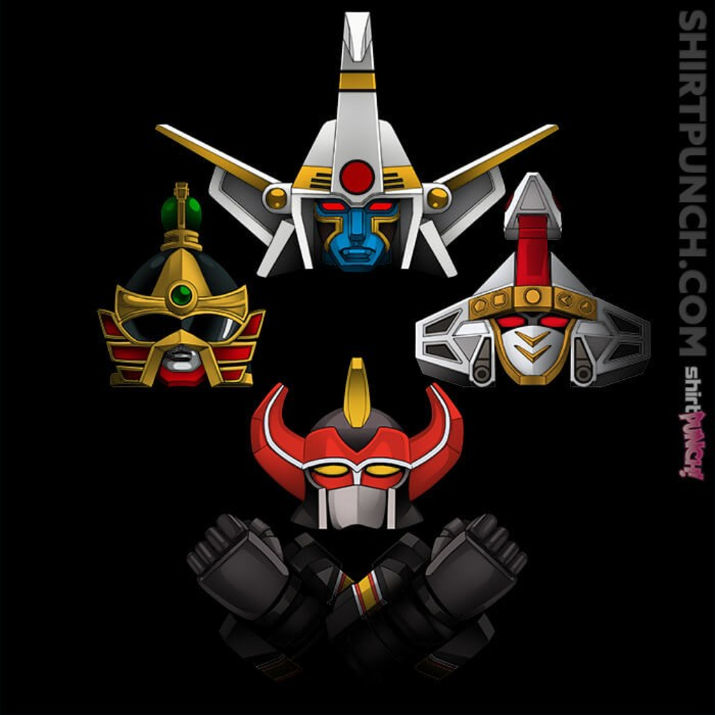 ShirtPunch: Zord Rhapsody