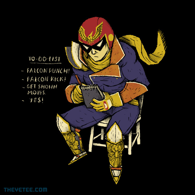 The Yetee: Falcon to-do-list