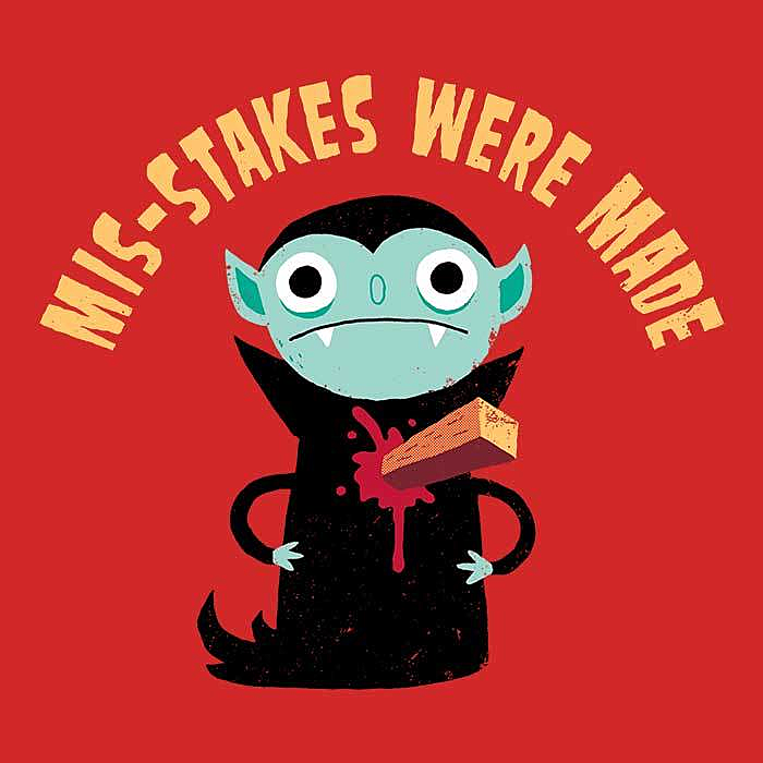 Once Upon a Tee: Mis-Stakes Were Made