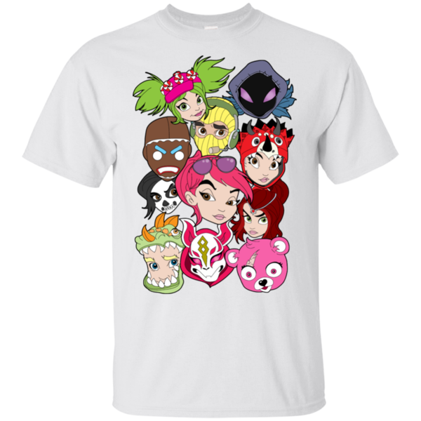 Pop-Up Tee: Fortnite Faces