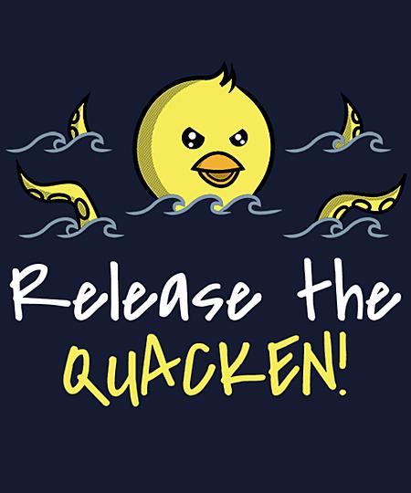 Qwertee: Release the Quacken