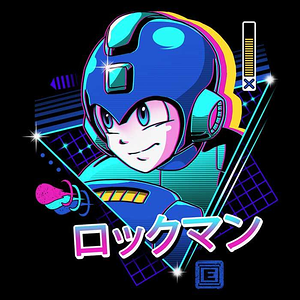 Once Upon a Tee: LoFi Blue Bomber