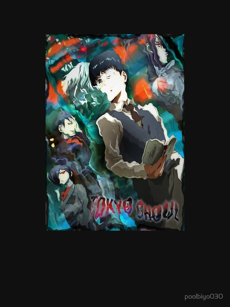 RedBubble: Tokyo Ghoul Cover Glitch