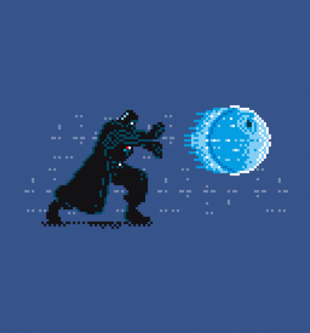 BustedTees: Sith Fighter