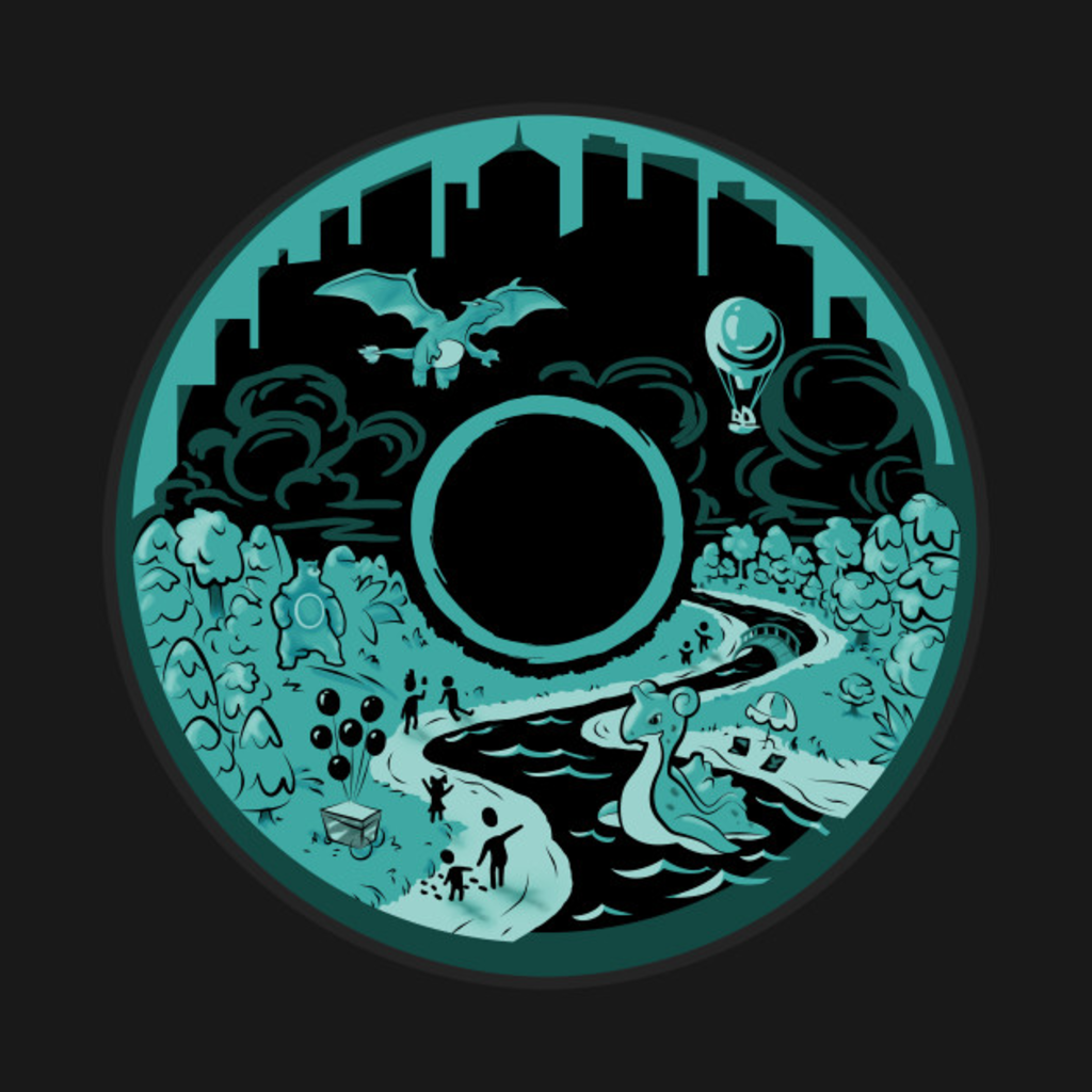 TeePublic: Pokémon GO Fest (PoGo) Chicago Shirt