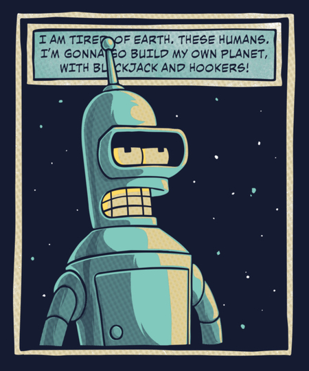 Qwertee: My Own Planet
