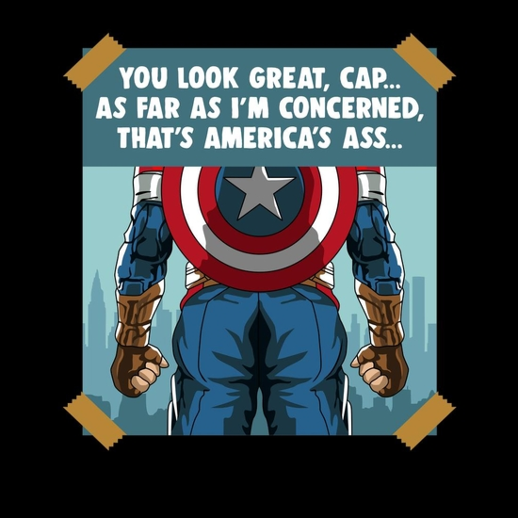 BustedTees: You Look Great Capt As Far I'm Concerned
