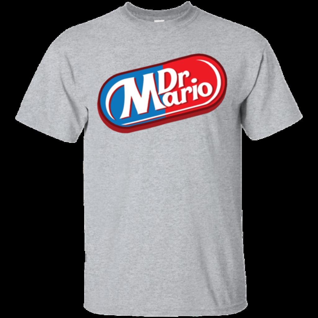 Pop-Up Tee: Dr. Mario