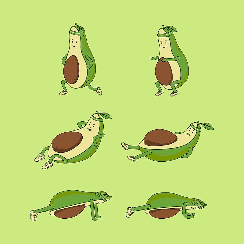 Pampling: Avocado Core Workout