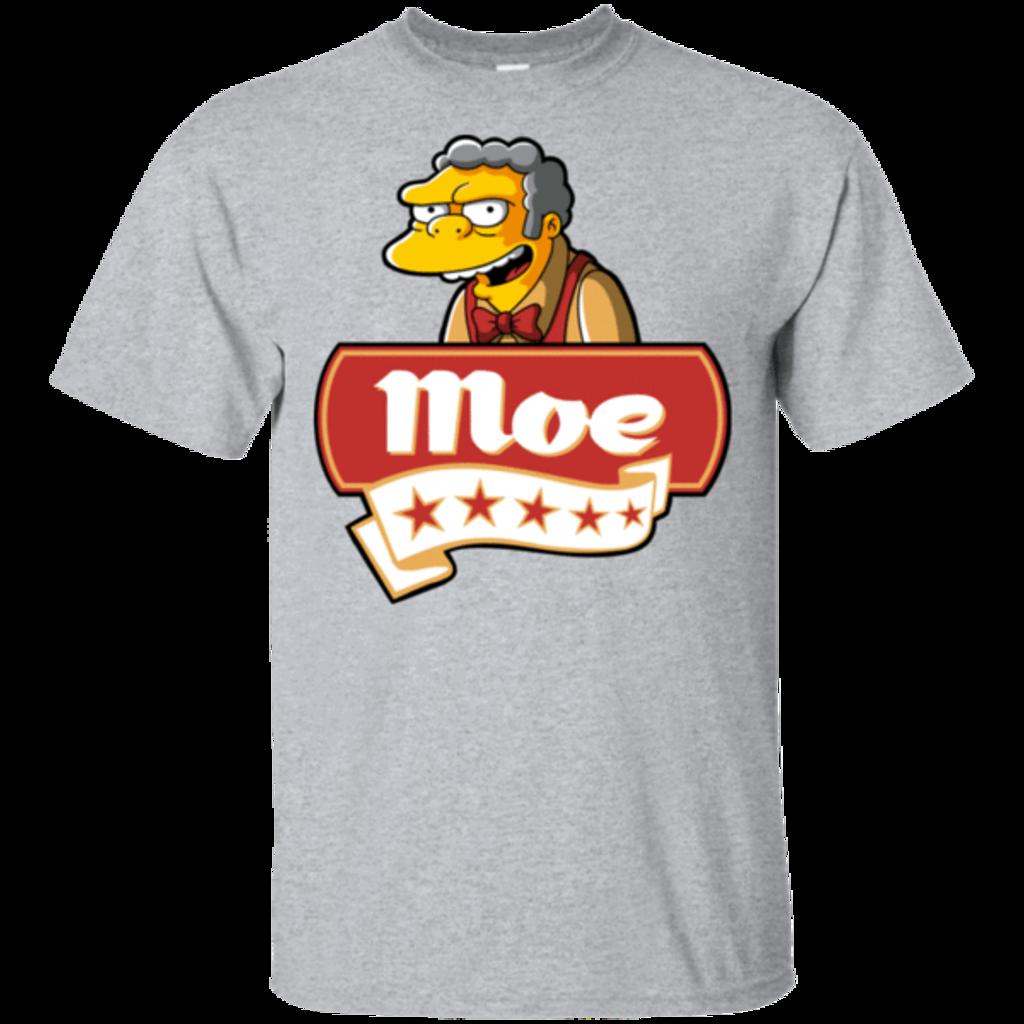Pop-Up Tee: Moe Five Stars
