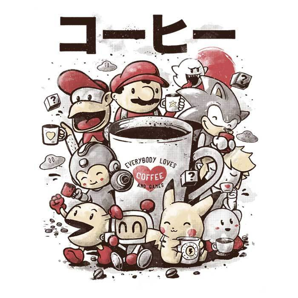 Once Upon a Tee: Games and Coffee