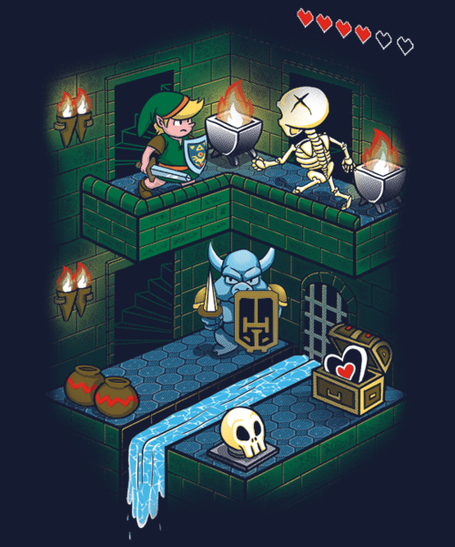 Qwertee: Through the Dungeon