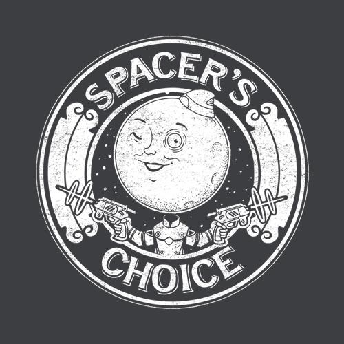 Five Finger Tees: Spacer's Choice T-Shirt