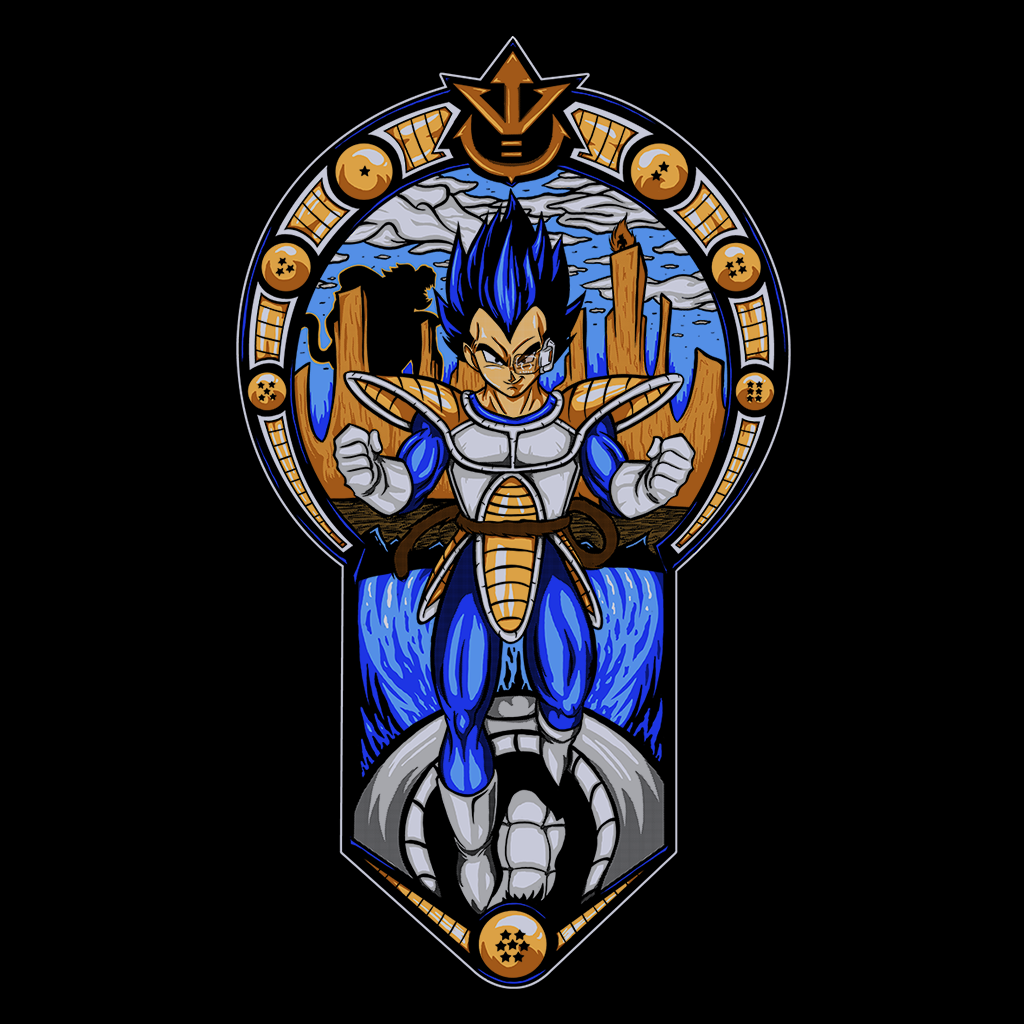 Pop-Up Tee: Prince of Saiyans