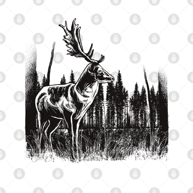 TeePublic: buck vintage style