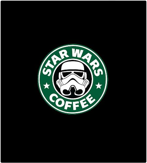 Shirt Battle: Star Wars Coffee