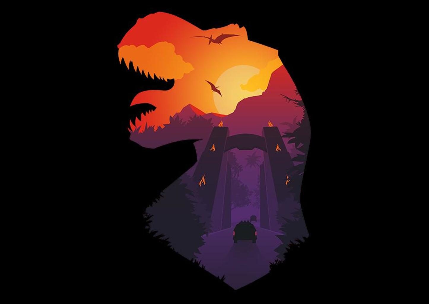TeeFury: Jurassic Dawn