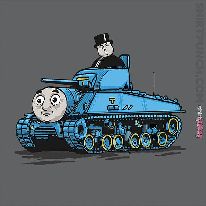 ShirtPunch: Thomas The Tank