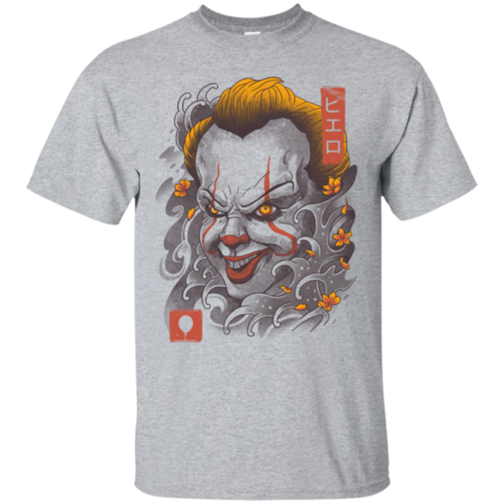 Pop-Up Tee: Oni Clown Mask