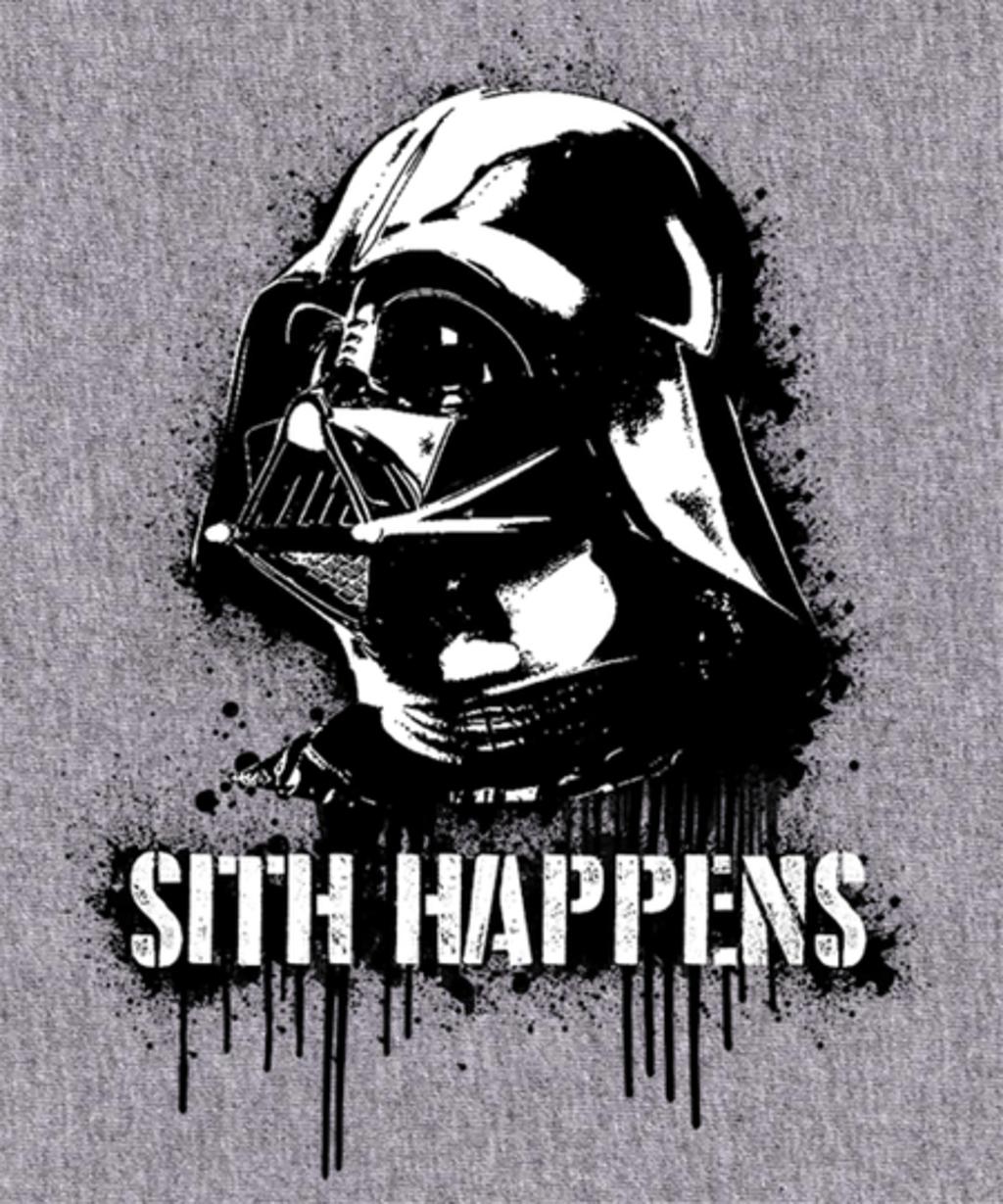 Qwertee: Sith Happens!