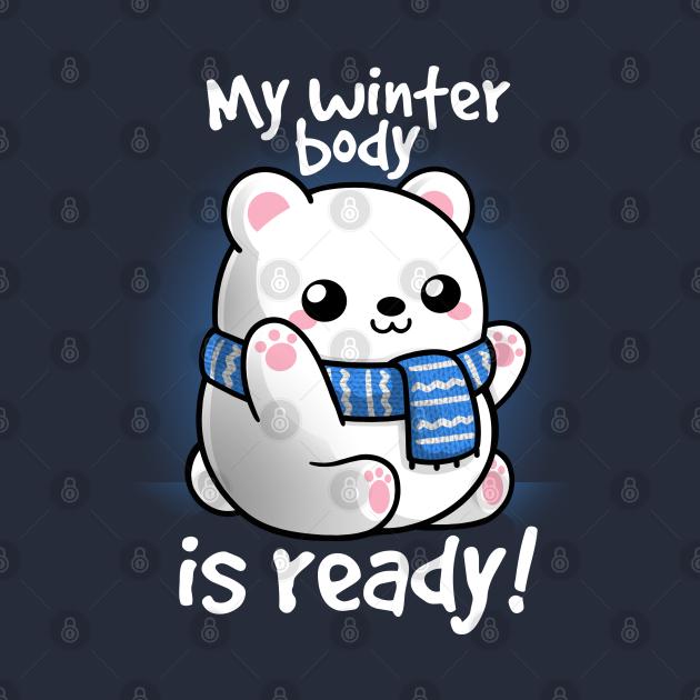 TeePublic: Polar bear winter body